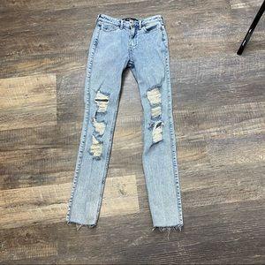 Hollister Super Skinny Highwaisted Jeans Size 00